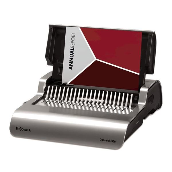 Picture of Βιβλιοδετικό Fellowes Quasar E 500 Electric Comb Binder 5620901
