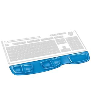 Picture of Στήριγμα καρπού Fellowes Health V Crystals Keyboard Wrist Support 9183101