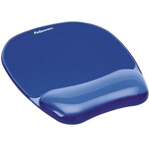 Picture of Στήριγμα καρπού Fellowes Crystals™ Gel Mousepad Wrist Support  9114120