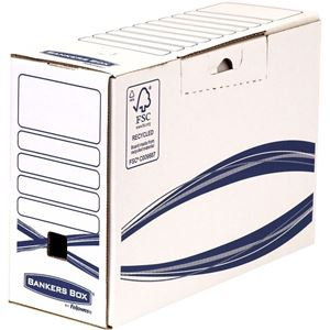 Picture of Κουτί μεταφοράς Bankers Box® Basic 123mm Foolscap Transfer File 4460901