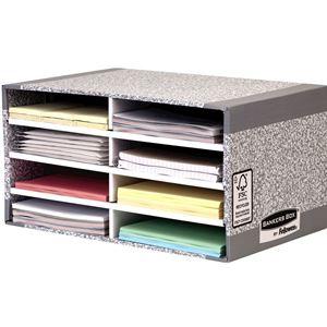 Picture of Μονάδες αποθήκευσης Bankers Box® System Desktop Sorter - Grey 08750ΕU