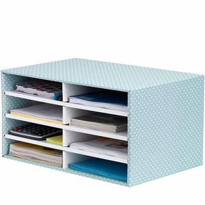 Picture of Κουτί αποθήκευσης Bankers Box®  Desktop Sorter Green/White 1pk 4482601