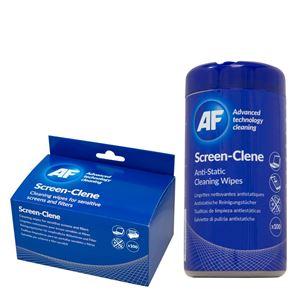 Picture of Καθαριστικό AF Screen-Clene tub of wipes SCR100T