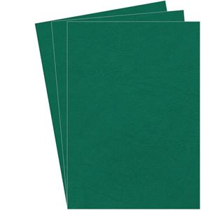 Picture of Εξώφυλλο βιβλιοδεσίας Fellowes Leatherboard dark green 5371503
