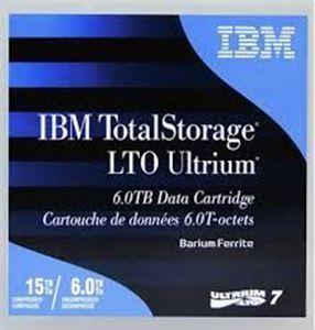 Picture of IBM LTO Ultrium 7 T Cartridges 6 / 15 TB 38L7302