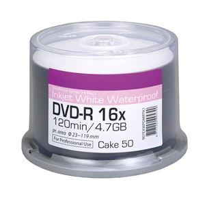 Picture of Οπτικό μέσο Ritek DVD-R Inkjet White Warerproof 16x