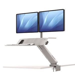 Picture of Fellowes Sit-Stand Workstation Lotus™ RT Dual Bk 8081801