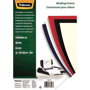 Picture of Εξώφυλλο βιβλιοδεσίας Fellowes Chromolux Paper white 5378006